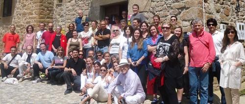 Clausura del I Encuentro Eleusino en Castilfrío