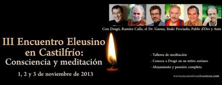 Programa del III Encuentro Eleusino en Castilfrío