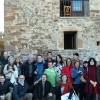 Foto de familia del III Encuentro Eleusino en Castilfrío