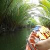 Paseo en barca por el río Kam Chay, en los alrededores de Kampot