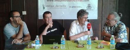 «El Viaje»: debate entre Dragó, David Jiménez, Francisco López-Seivane y José María Poveda