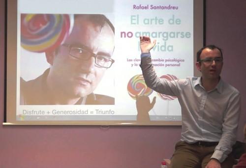 Rafael Santandreu, nuevo ponente para el V Encuentro Eleusino en Marruecos