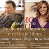 Reyes Monforte en la tertulia de los Encuentros Eleusinos en el Café Gijón