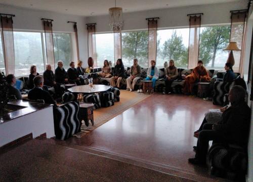 Meditación con Francisco López-Seivane en Marruecos