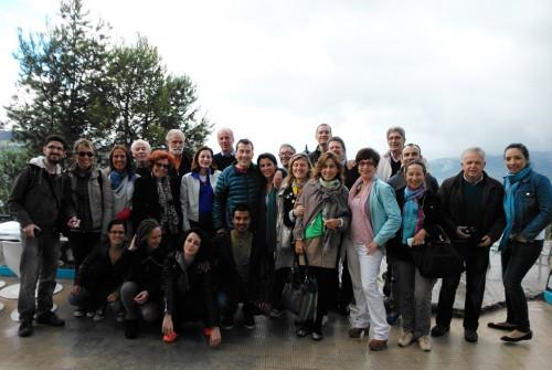 Álbum de familia del V Encuentro Eleusino en Marruecos