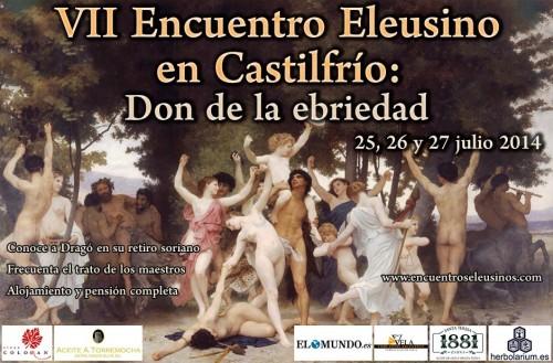 Programa del VII Encuentro Eleusino en Castilfrío