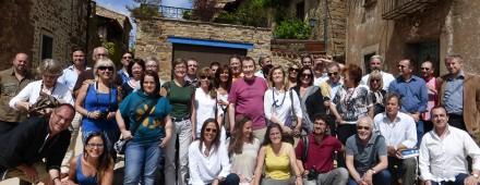 Álbum de familia del VI Encuentro Eleusino en Castilfrío