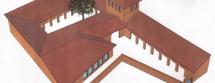 Construcción de la Escuela Iniciática Eleusina en Castilfrío