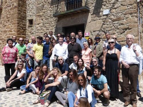 Álbum de familia del VII Encuentro Eleusino en Castilfrío