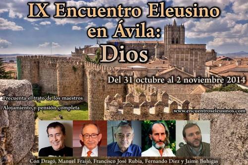Programa del IX Encuentro Eleusino en Ávila