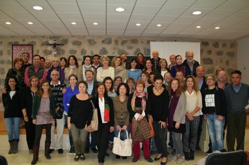 Álbum de familia del IX Encuentro Eleusino en Ávila