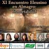 Programa del XI Encuentro Eleusino en Almagro