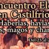 Programa del XII Encuentro Eleusino en Castilfrío: Brujas, magos y chamanes