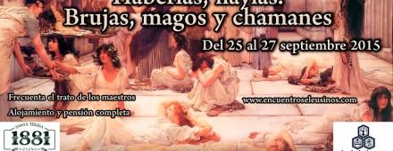 Programa del XII Encuentro Eleusino en Castilfrío