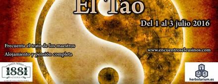 """Programa del XV Encuentro Eleusino en Castilfrío: """"El Tao"""""""