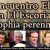 Programa del XII Encuentro Eleusino en El Escorial: Sophia perennis