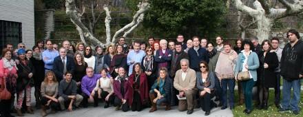 Álbum de familia del XIII Encuentro Eleusino en El Escorial