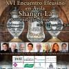 Programa del XVI Encuentro Eleusino en Ávila: Shangri-La