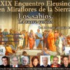 "Programa del XIX Encuentro Eleusino en Miraflores: ""Los sabios. La suave vereda"""
