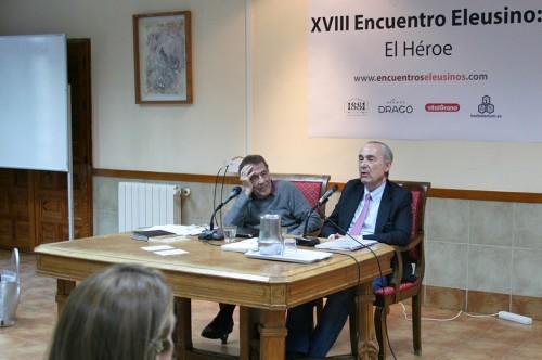 «Tipología de lo heroico», con Luis Alberto de Cuenca