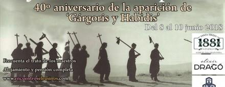 """Programa del XXIII Encuentro Eleusino en Cercedilla: """"El Jardín de las Hespérides"""""""