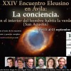 """Programa del XXIV Encuentro Eleusino en Ávila: """"La conciencia"""""""