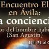 """Programa del XXIV Encuentro Eleusino en Ávila: """"La conciencia. En el interior del hombre habita la verdad (San Agustín)"""""""