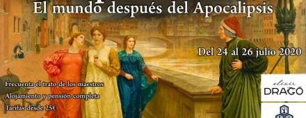 "XXX Encuentro Eleusino en Segovia: ""Incipit vita nova. El mundo después del Apocalipsis"""
